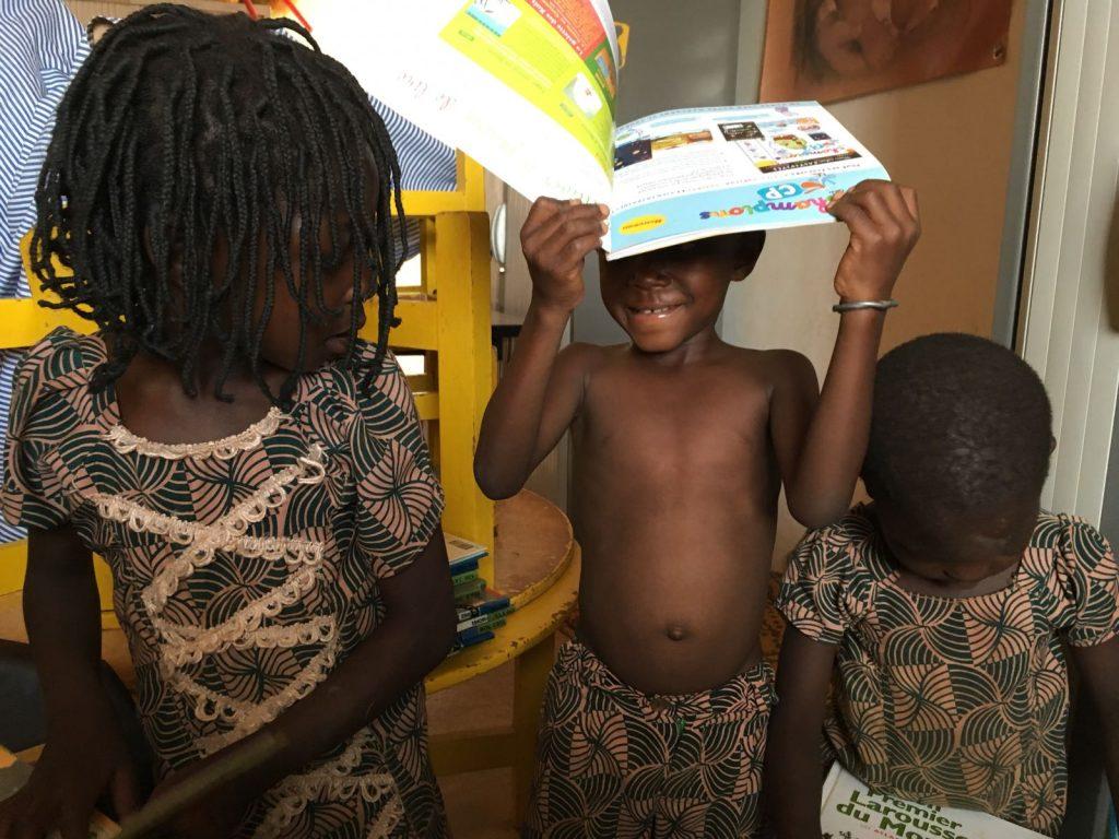 Educar, hoy, en Burkina!